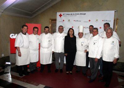 Les Maîtres Cuisiniers de France - Gala Croix-Rouge Marseille, 2016