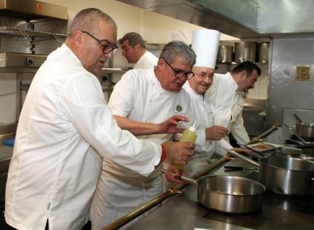 Maîtres cuisiniers de France - Gala caritatif Croix-Rouge Marseille