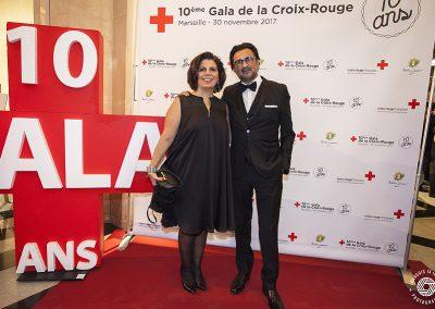 Gala caritatif Croix-Rouge française, Marseille, 2017