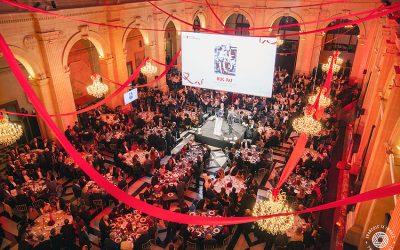 Pour la soirée de gala de la Croix-Rouge du 30 novembre 2017, le Palais de la Bourse de Marseille brillait de mille feux !